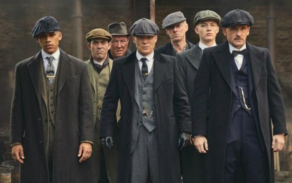 Peaky Blinders, una serie sobre el mundo de la mafia inglesa estrenó su quinta temporada en Netflix. Foto: Difusión