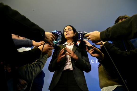 Azucena Arbeleche, asesora económica de Luis Lacalle Pou. Foto: Fernando Ponzetto