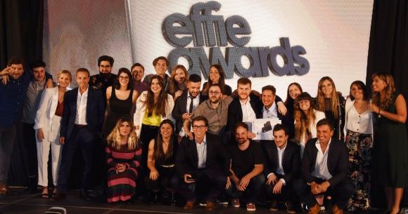 Publicis Ímpetu festeja el Gran Effie. Foto: Gentileza Effie Awards.