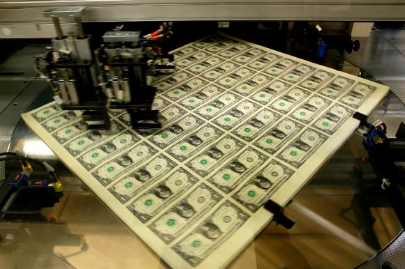 Dólares. Foto: Reuters