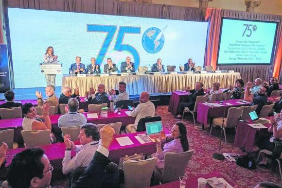 Asamblea de la Sociedad Interamericana de Prensa. Foto: SIP