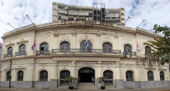 Cancillería paraguaya. Foto: Twitter @mreparaguay