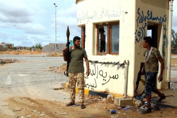 Combatientes en Siria. Foto: AFP