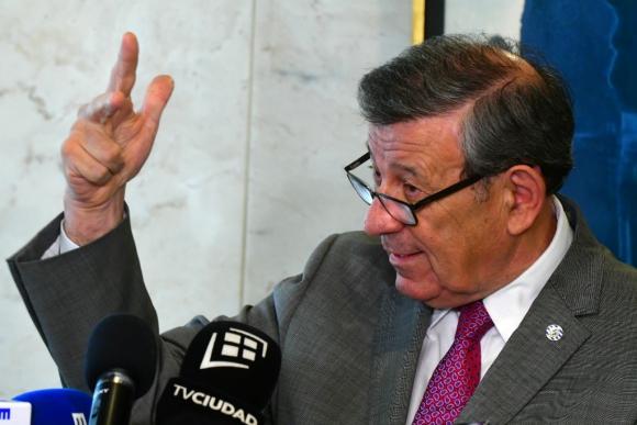 Canciller uruguayo Rodolfo Nin Novoa. Foto: Francisco Flores