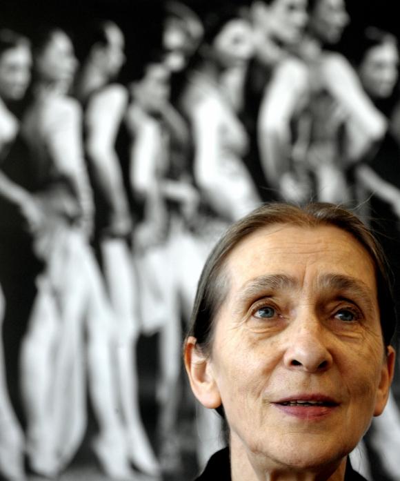 Pina Bausch. Foto: AFP