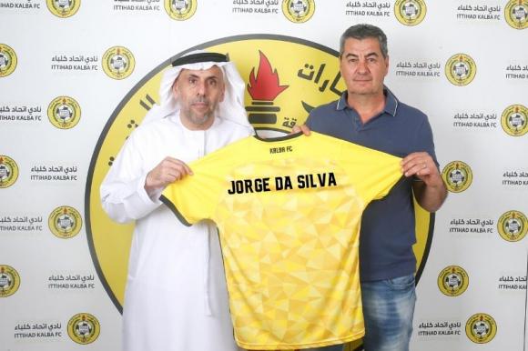 """Jorge """"Polilla"""" Da Silva es el nuevo entrenador del Al Ittihad Kalba. Foto: @ittihadkalbafce"""