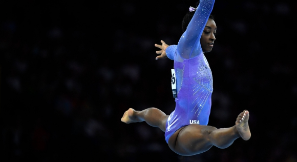Simone Biles, la gimnasta más ganadora de la historia