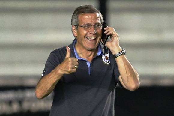 Óscar Tabárez en 2014