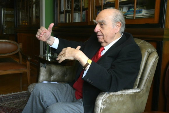 Julio María Sanguinetti. Foto: Darwin Borrelli