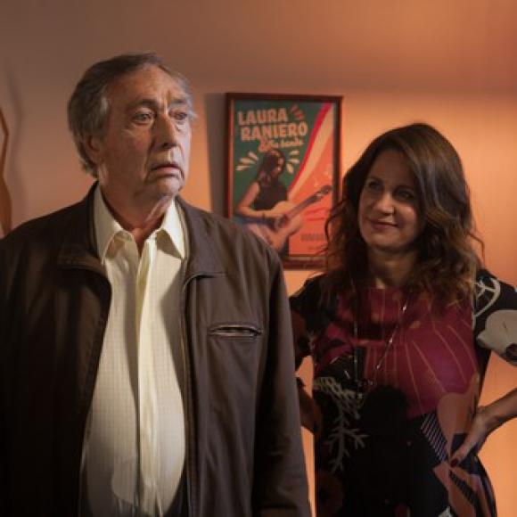 """Luis Brandoni y Nancy Dupláa en """"El retiro"""". Foto: Difusión"""