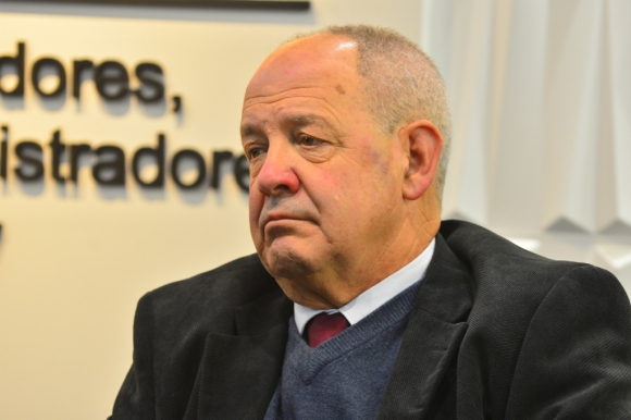 Ricardo Gil Iribarne, presidente de la Jutep. Foto: Gerardo Pérez