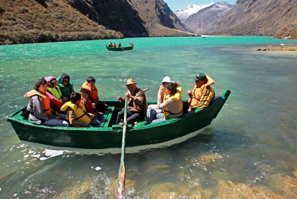 Parque Nacional Huascarán en Perú