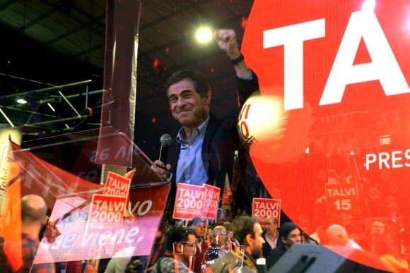 Ernesto Talvi en Canelones, en un acto en el que dejó claro que busca alejarse cada vez más del Frente Amplio. Foto: Gerardo Pérez