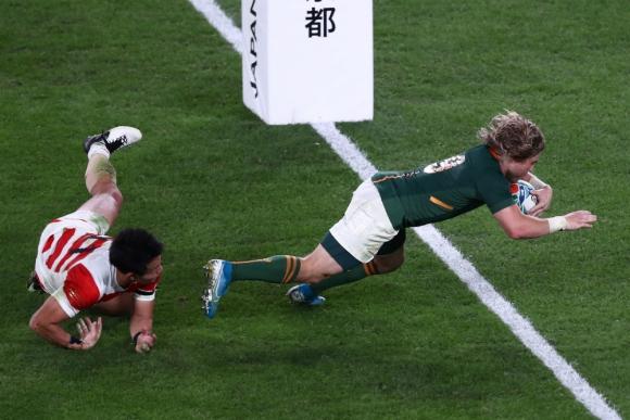 El apoyo del público no pudo evitar los tries sudafricanos