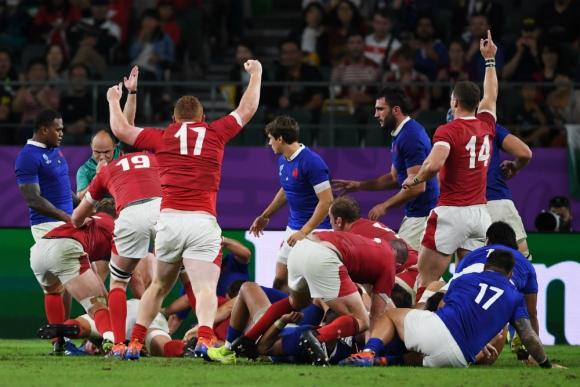 Gales es semifinalista del Mundial de Rugby