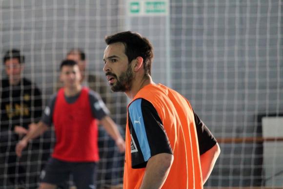 Federico Fedele, capitán de la selección uruguaya de futsal. Foto: Matías Pérez