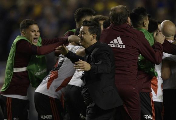 Marcelo Gallardo en River Plate.
