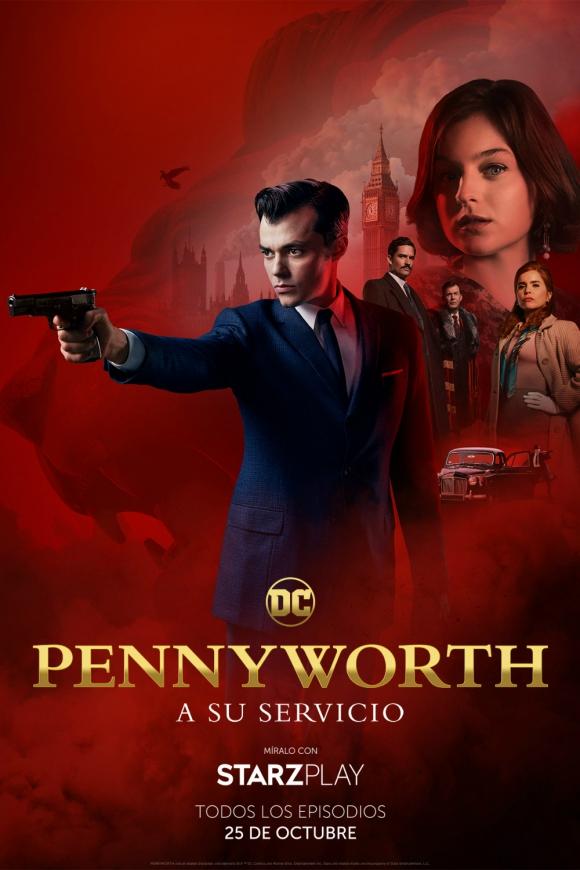 """Póster de """"Pennyworth"""". Foto: Difusión."""