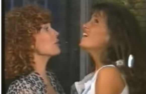 Silvia Montanari y Florencia Peña