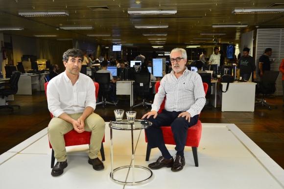 Martín Aguirre y Óscar Vilas