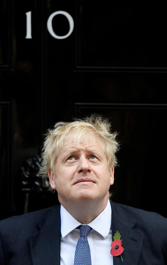 El primer ministro en Downing Street. Foto: Reuters