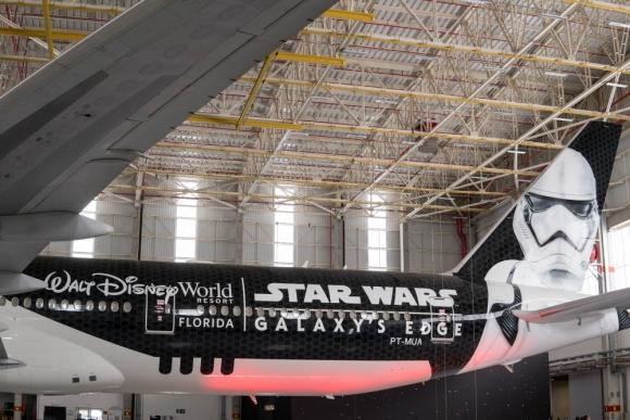 Foto del Stormtrooper Plane, avión que ya se encuentra operativo. Foto: Difusión