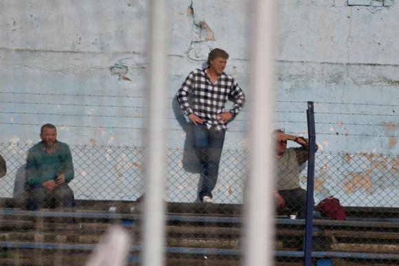 Juan Ramón Carrasco en Belvedere en el duelo entre Liverpool y Fénix. Foto: Fernando Ponzetto.