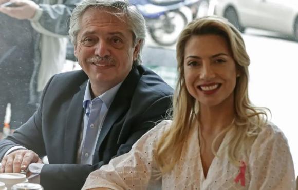 Alberto Fernández y Fabiola Yañez