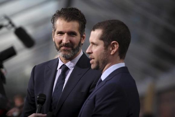 David Benioff y D. B. Weiss. Foto: Reuters