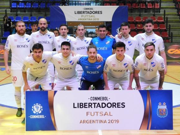 Nacional en la Copa Libertadores de futsal de 2019. Foto: Conmebol