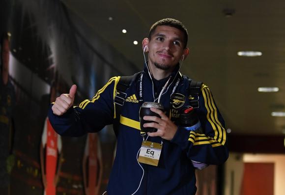 Lucas Torreira en Arsenal.