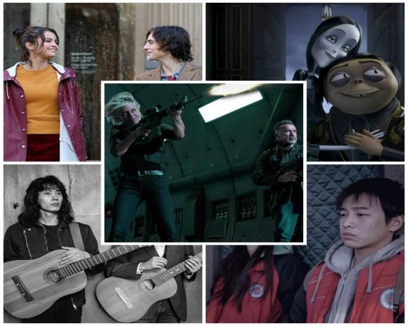 """""""Un día lluvioso en Nueva York"""", """"Terminator: destino oscuro"""": """"Leto""""; """"Un elefante sentado y quieto"""" y """"Los locos Addams"""" son los estrenos. Foto: Difusión"""