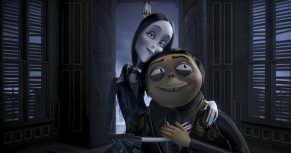 """Imagen de la película animada """"Los locos Addams"""". Foto: Difusión"""