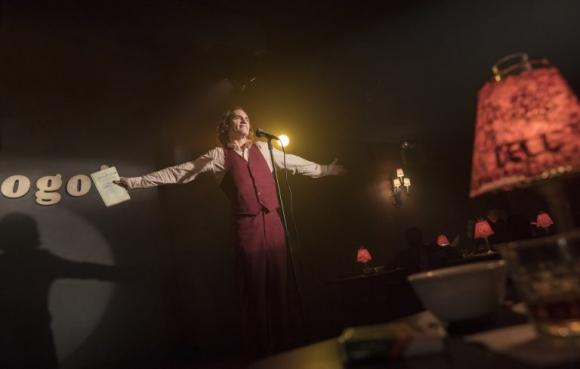 Joaquin Phoenix como Arthur Fleck, o sea, Guasón (Joker). Foto: Difusión
