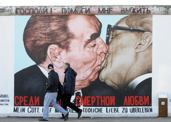 Muro de Berlín. Foto: Archivo El País.
