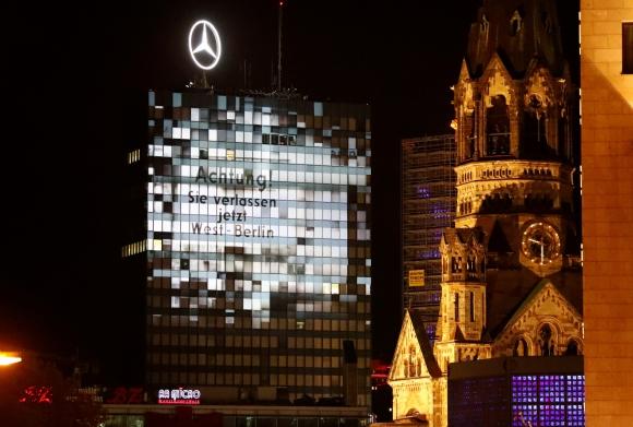 Los muros reflejados en Berlín. Foto: Reuters