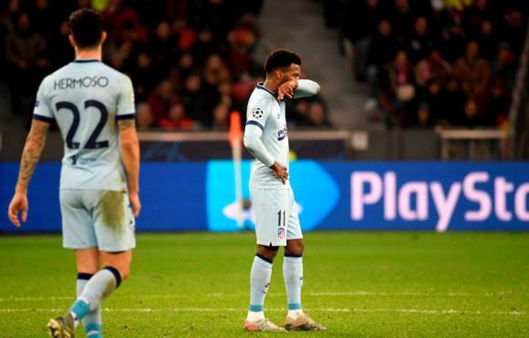 Atlético de Madrid perdió 2-1 ante el Lokomotiv de Moscú por Champions League. Foto: AFP.