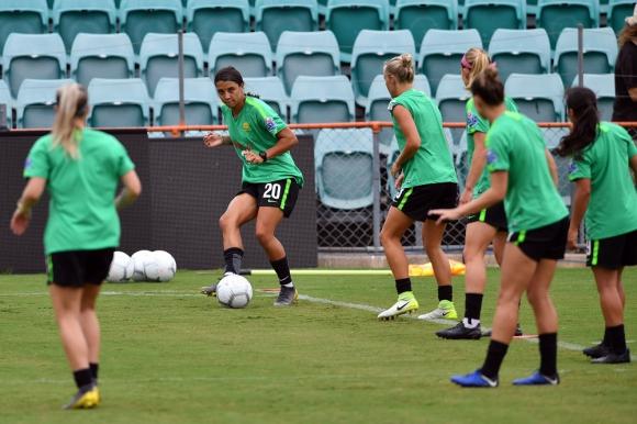 Selección femenina de Australia.