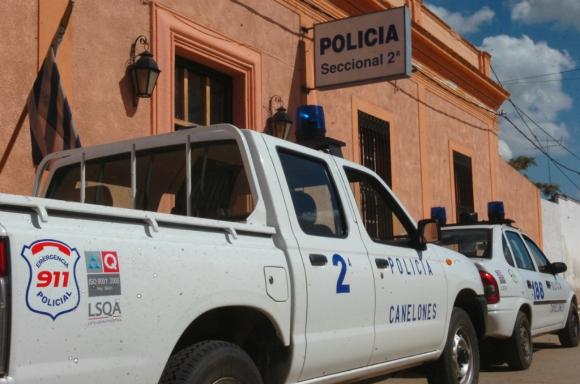 Seccional policial en Canelones. Foto: Archivo El País