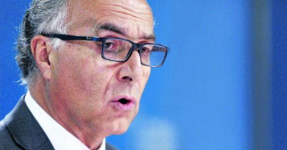 Teodoro Ribera, canciller chileno. Foto: EFE