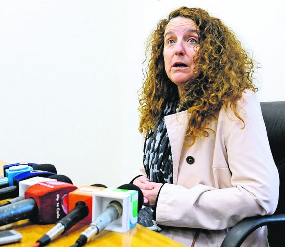 Fiscal Adriana Umpiérrez. Foto: Archivo El País
