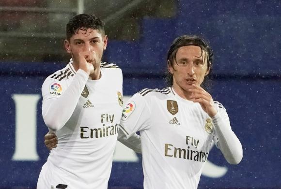 Federico Valverde y Luka Modric en Real Madrid