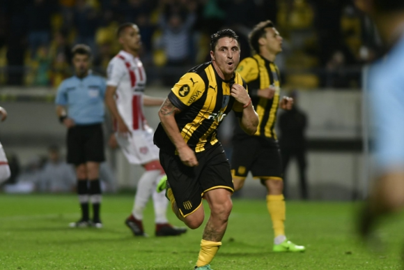 """""""Cebolla"""" Cristian Rodríguez en Peñarol"""