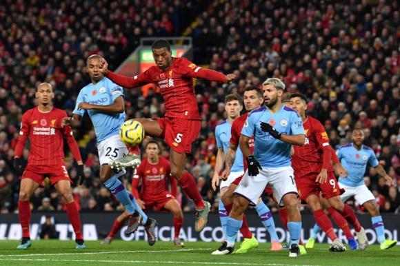 Liverpool derrotó 3 a 1 al Manchester City por Premier League. Foto: AFP.