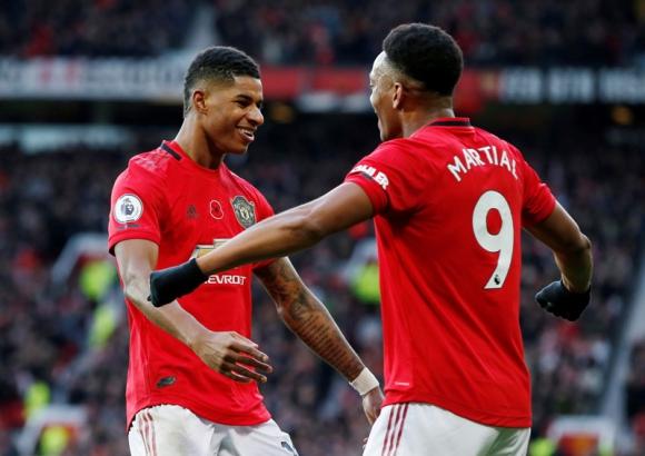 Manchester United volvió a la victoria ante al Brighton por 3 a 1. Foto: Reuters