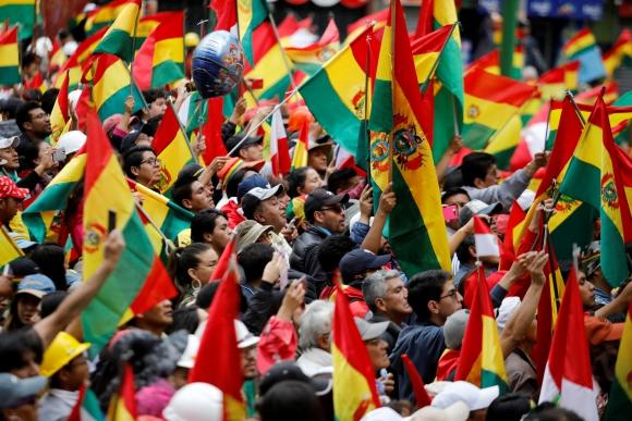 protestas evo bolivia