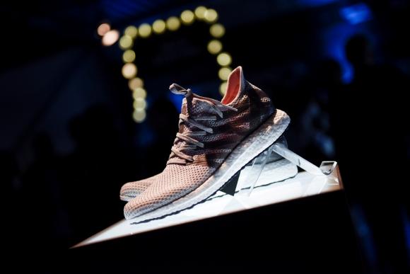 Prototipos de calzado Futurecraft 3D de Adidas. Foto: Reuters.