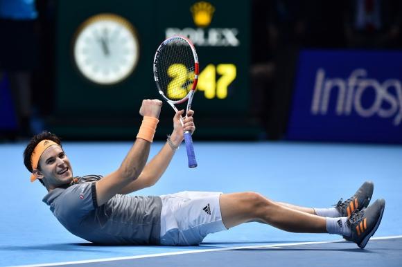 Dominic Thiem en el ATP Finals 2019