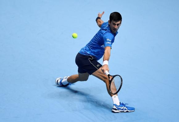 Novak Djokovic en el ATP FInals