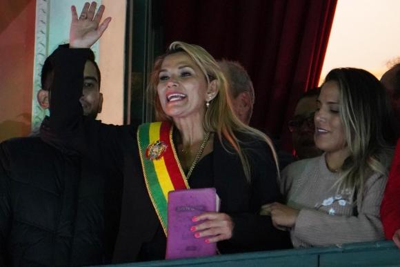 Jeanine Áñez. Foto: EFE.
